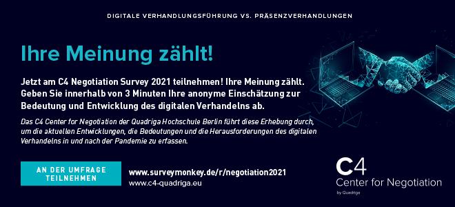 Negotiation Survey 2021
